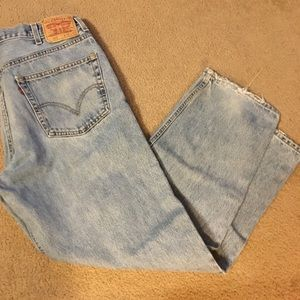 Vintage Red Tag 38/32 Levi's 550's